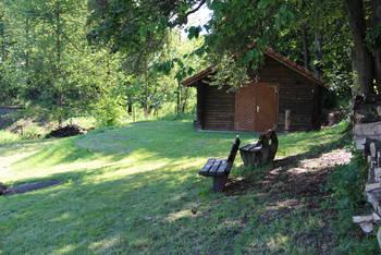 Grillhütte in Wünschen-Moos