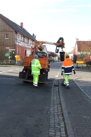 Reiningung Straßenentwässerung